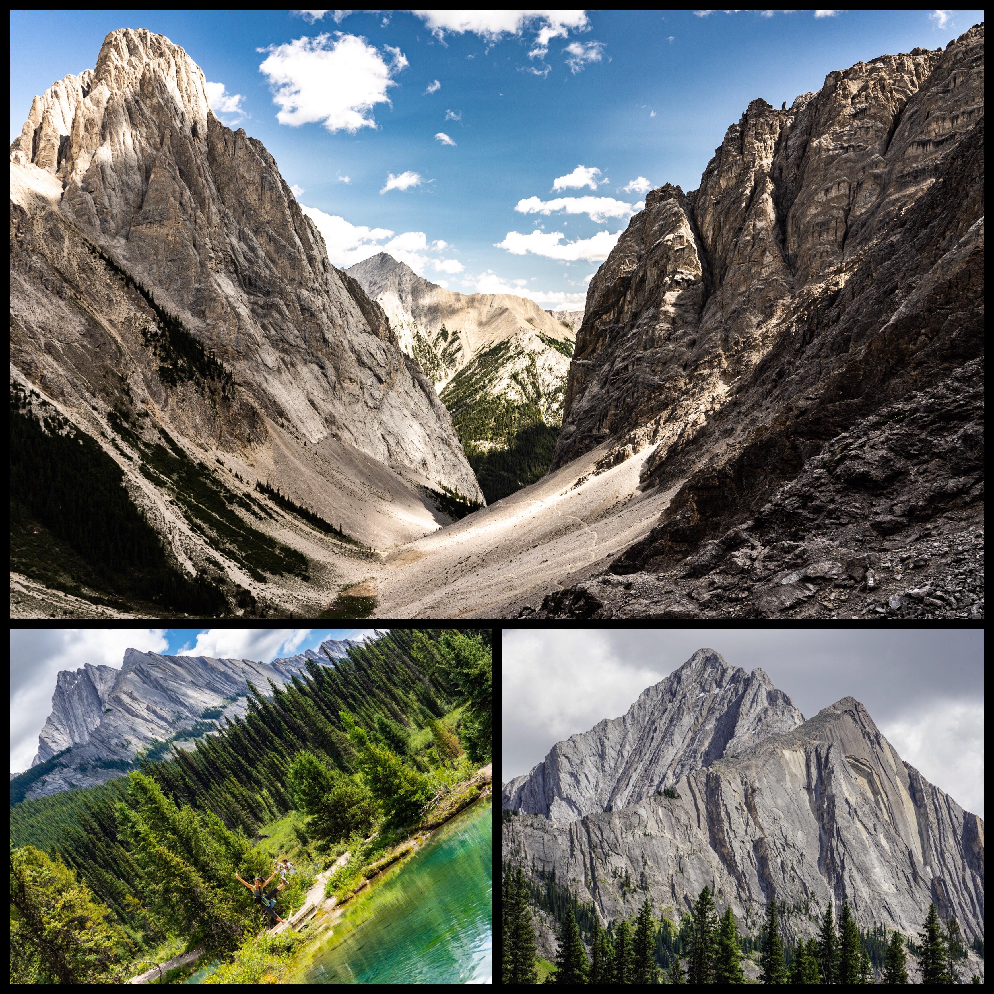 banff national park dans l'ouest canadien