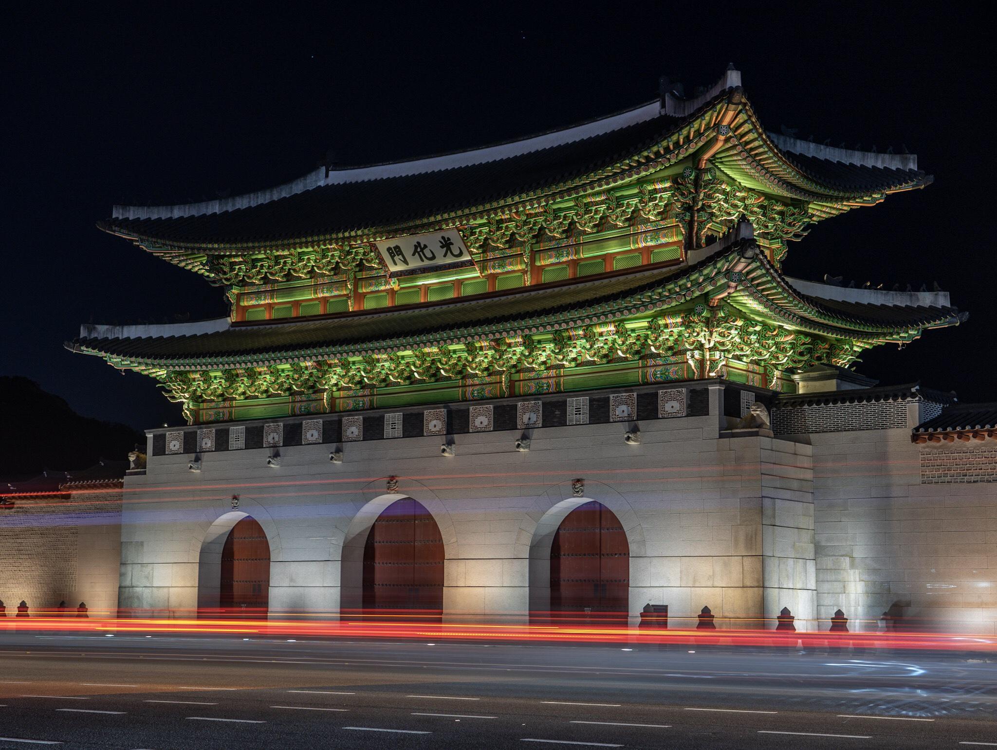 temple en Corée du sud