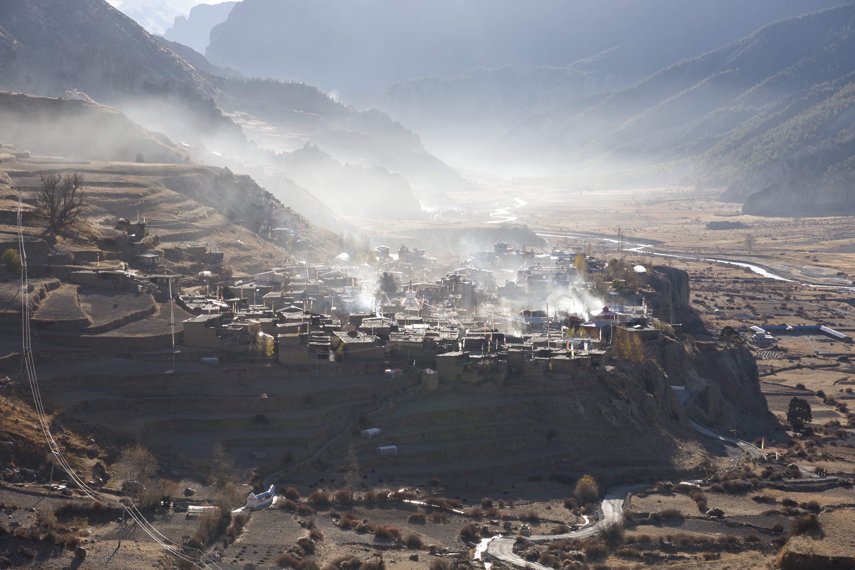 montagne l'annapurna